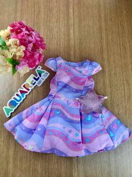 Vestido estrela candy