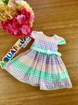 Vestido Mix Xadrez