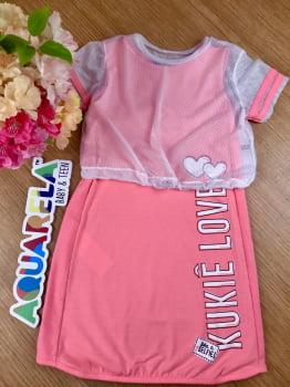 Vestido Pink Neon