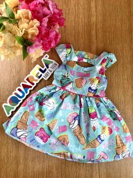 Vestido Sorvete Encantado